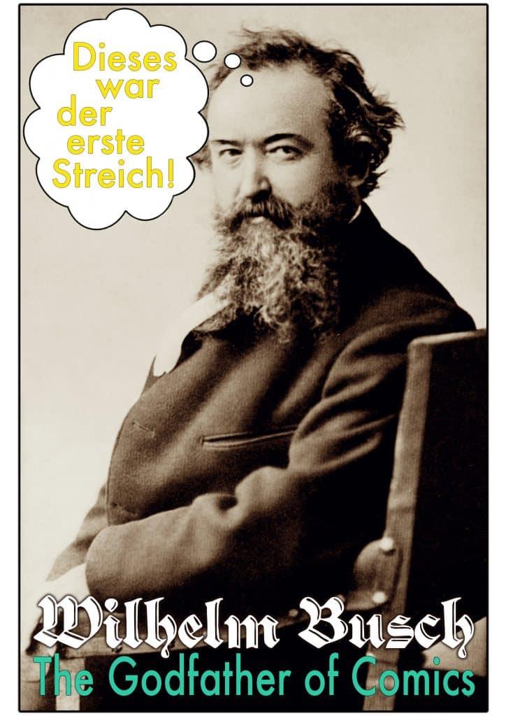 Wilhelm Busch poster